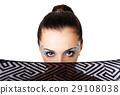 Beautiful female Fashion face 29108038