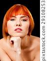 Beautiful redhead face 29108253