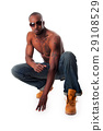 Fit African man 29108529