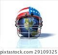 american, football, helmet 29109325