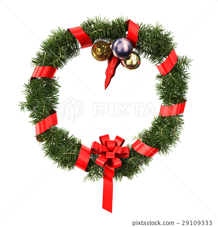 Christmas and new year decoration. 29109333
