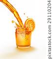 飲料 柑橘 水滴 29110204