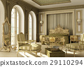 Luxury rococo bedroom 29110294