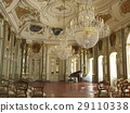 Majestic large decorated piano concert hall. 29110338
