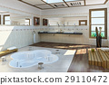 Luxury bathroom. 29110472