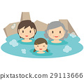 hot spring, spa, open-air bath 29113666