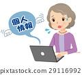 개인 정보 유출 수석 여성 29116992
