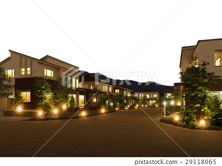 城市景觀夜景 29118065
