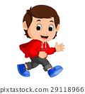 cute boy cartoon 29118966