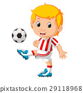 boy playing soccer 29118968