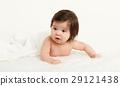 baby, towel, lie 29121438