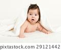 baby, towel, lie 29121442