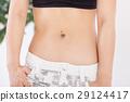 腹部的 腹部 胃 29124417