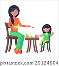 mother daughter table 29124904