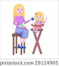 mother daughter vector 29124905