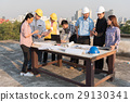 Group of engineers and architects planing 29130341