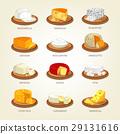 Cheese food like parmesan and mozzarella 29131616