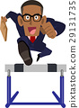 business man, hurdle, hurdles 29131735