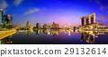 Singapore Skyline and view of Marina Bay 29132614