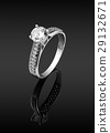 women's ring with diamonds 29132671