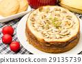 Homemade Banana caramel cheesecake 29135739
