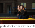 Young girls on the playground 29137510