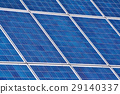 solar panels on a house roof 29140337