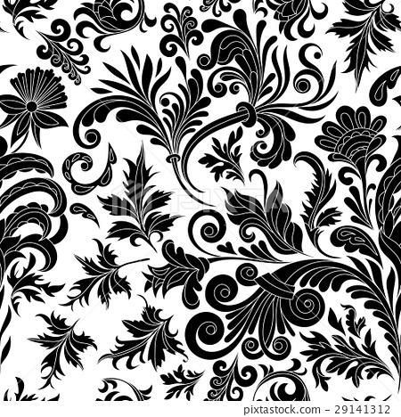 Vector illustration. Decorative design element 29141312