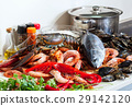 Fresh raw seafoods 29142120