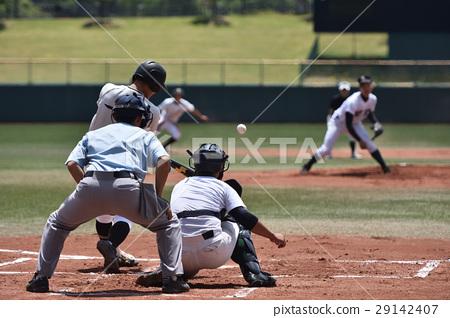 High School Baseball Game 29142407