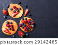 Pancakes with berries 29142465