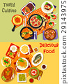 cuisine, vector, italian 29143975