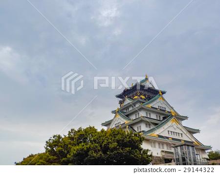 Osaka Castle in Osaka, Japan 29144322