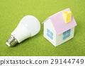 LED 전구와 집 모형 29144749