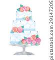 婚礼蛋糕 蛋糕 婚礼 29147205