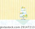 웨딩 케이크 일러스트 29147213