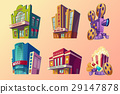 building, vector, theater 29147878