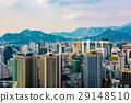 metropolis of Seoul taken from Namsan mountain 29148510