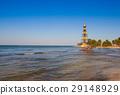 Lighthouse on the Cayo Jutias beach, Cuba 29148929