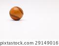 Leather baseball ball on the white desk 29149016