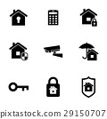 security, home, vector 29150707