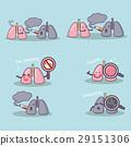 cute cartoon lung 29151306