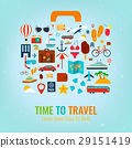 Travel holiday vacation suitcase. Travel and 29151419