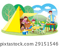 Family camping 29151546