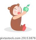 child bear apple 29153876