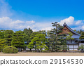 nijo castle, blue sky, sky 29154530