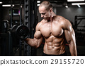 work out dumbbell 29155720