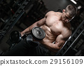 work out dumbbell 29156109