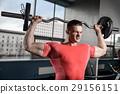 锻炼 健身房 举起 29156151