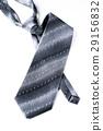 Gray man's tie 29156832